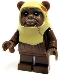 Figura de Ewok de Star Wars de LEGO 4 - Figuras de acción y muñecos de Ewoks de Star Wars