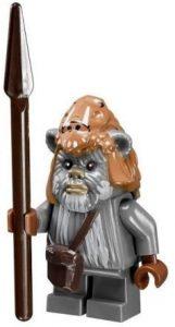Figura de Ewok de Star Wars de LEGO 5 - Figuras de acción y muñecos de Ewoks de Star Wars