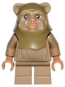 Figura de Ewok de Star Wars de LEGO - Figuras de acción y muñecos de Ewoks de Star Wars