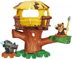 Figura de Ewok de Star Wars de Playskool - Figuras de acción y muñecos de Ewoks de Star Wars