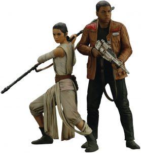 Figura de Finn y Rey de Star Wars de Kotobukiya 2 - Figuras de acción y muñecos de Finn de Star Wars