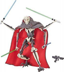 Figura de General Grievous de Star Wars de Hasbro Star Wars The Black Series - Figuras de acción y muñecos de General Grievous de Star Wars