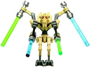Figura de General Grievous de Star Wars de Lego - Figuras de acción y muñecos de General Grievous de Star Wars