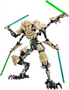 Figura de General Grievous de Star Wars de Lego Pro - Figuras de acción y muñecos de General Grievous de Star Wars