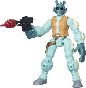 Figura de Greedo de Star Wars de Hero Mashers - Figuras de acción y muñecos de Greedo de Star Wars