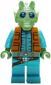 Figura de Greedo de Star Wars de Lego - Figuras de acción y muñecos de Greedo de Star Wars
