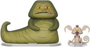 Figura de Jabba el Hutt y Salacious de Star Wars de Vynl - Figuras de acción y muñecos de Jabba el Hutt de Star Wars