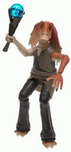 Figura de Jar Jar Binks de Star Wars de Electronic Talking - Figuras de acción y muñecos de Jar Jar Binks de Star Wars