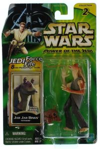 Figura de Jar Jar Binks de Star Wars de Hasbro clásico - Figuras de acción y muñecos de Jar Jar Binks de Star Wars