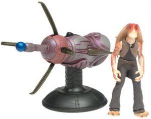 Figura de Jar Jar Binks de Star Wars de Hasbro con cañón - Figuras de acción y muñecos de Jar Jar Binks de Star Wars