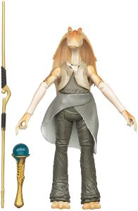 Figura de Jar Jar Binks de Star Wars de Kenner - Figuras de acción y muñecos de Jar Jar Binks de Star Wars