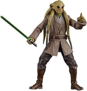 Figura de Kit Fisto de Star Wars de Black Series Hasbro - Figuras de acción y muñecos de Kit Fisto de Star Wars