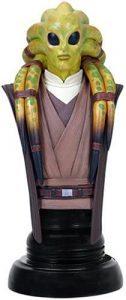 Figura de Kit Fisto de Star Wars de Busto - Figuras de acción y muñecos de Kit Fisto de Star Wars