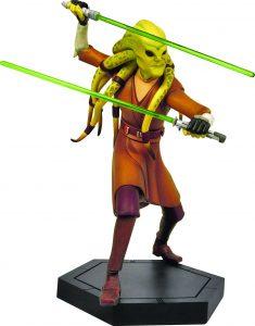 Figura de Kit Fisto de Star Wars de Clone Wars - Figuras de acción y muñecos de Kit Fisto de Star Wars