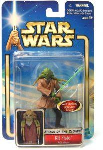 Figura de Kit Fisto de Star Wars de Hasbro Classic - Figuras de acción y muñecos de Kit Fisto de Star Wars