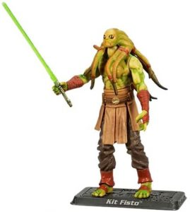 Figura de Kit Fisto de Star Wars de Hasbro Star Collection - Figuras de acción y muñecos de Kit Fisto de Star Wars