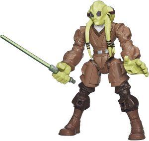 Figura de Kit Fisto de Star Wars de Hero Mashers - Figuras de acción y muñecos de Kit Fisto de Star Wars