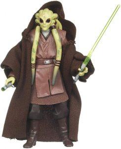 Figura de Kit Fisto de Star Wars de Kenner - Figuras de acción y muñecos de Kit Fisto de Star Wars