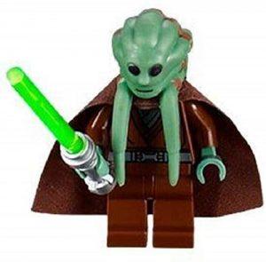 Figura de Kit Fisto de Star Wars de LEGO - Figuras de acción y muñecos de Kit Fisto de Star Wars