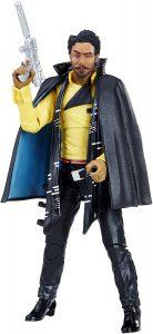 Figura de Lando Calrissian de Star Wars de Hasbro 4 - Figuras de acción y muñecos de Lando Calrissian de Star Wars