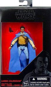 Figura de Lando Calrissian de Star Wars de Hasbro The Black Series 3 - Figuras de acción y muñecos de Lando Calrissian de Star Wars