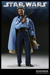 Figura de Lando Calrissian de Star Wars de Sideshow - Figuras de acción y muñecos de Lando Calrissian de Star Wars