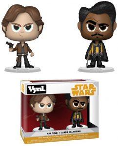 Figura de Lando Calrissian y Han Solo de Star Wars de Vynl - Figuras de acción y muñecos de Lando Calrissian de Star Wars