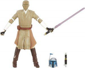 Figura de Mace Windu de Star Wars de Hasbro Black Series - Figuras de acción y muñecos de Mace Windu de Star Wars