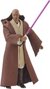 Figura de Mace Windu de Star Wars de Hasbro The Black Series - Figuras de acción y muñecos de Mace Windu de Star Wars