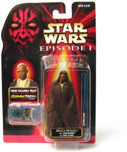 Figura de Mace Windu de Star Wars de Hasbro classic - Figuras de acción y muñecos de Mace Windu de Star Wars
