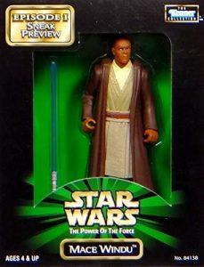 Figura de Mace Windu de Star Wars de Kenner - Figuras de acción y muñecos de Mace Windu de Star Wars