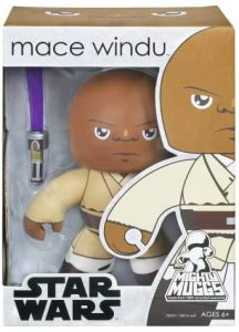 Figura de Mace Windu de Star Wars de Mighty Muggs - Figuras de acción y muñecos de Mace Windu de Star Wars