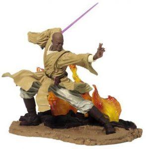 Figura de Mace Windu y Yoda de Star Wars de Unleashed - Figuras de acción y muñecos de Mace Windu de Star Wars
