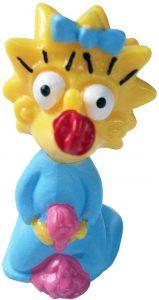 Figura de Maggie Simpson de Comansi - Muñecos de Maggie Simpson de los Simpsons - Figuras de acción de los Simpsons