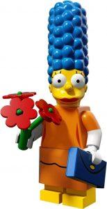 Figura de Marge Simpson de LEGO 2 - Muñecos de Marge Simpson de los Simpsons - Figuras de acción de los Simpsons