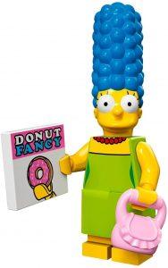 Figura de Marge Simpson de LEGO - Muñecos de Marge Simpson de los Simpsons - Figuras de acción de los Simpsons
