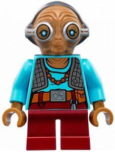 Figura de Maz Kanata de Star Wars de Lego - Figuras de acción y muñecos de Maz Kanata de Star Wars