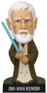 Figura de Obi-Wan Kenobi Episodio IV de Star Wars de Bobble Head - Figuras de acción y muñecos de Obi Wan Kenobi de Star Wars