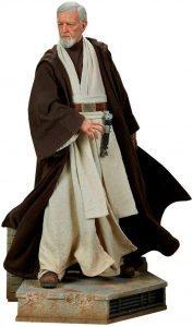 Figura de Obi-Wan Kenobi Episodio IV de Star Wars de Sideshow - Figuras de acción y muñecos de Obi Wan Kenobi de Star Wars