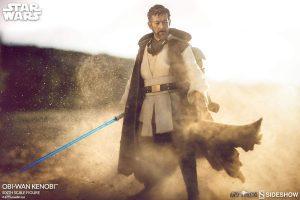 Figura de Obi-Wan Kenobi Mythos de Star Wars de Sideshow - Figuras de acción y muñecos de Obi Wan Kenobi de Star Wars