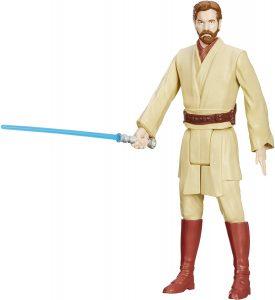 Figura de Obi-Wan Kenobi de Star Wars de Hasbro - Figuras de acción y muñecos de Obi Wan Kenobi de Star Wars