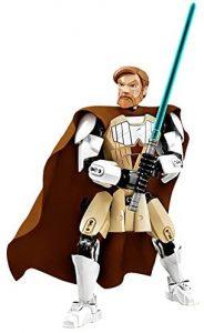 Figura de Obi-Wan Kenobi de Star Wars de Lego - Figuras de acción y muñecos de Obi Wan Kenobi de Star Wars