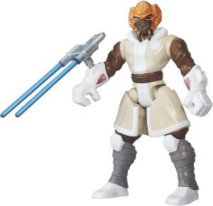 Figura de Plo Koon de Star Wars de Hero Mashers - Figuras de acción y muñecos de Plo Koon de Star Wars