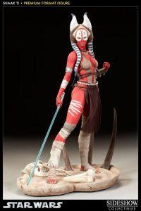 Figura de Shaak Ti de Star Wars de Sideshow - Figuras de acción y muñecos de Shaak Ti de Star Wars