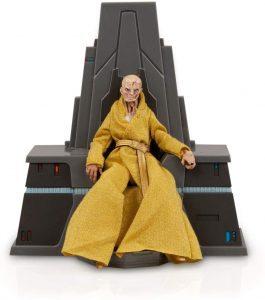 Figura de Snoke con trono de Star Wars de Hasbro The Black Series - Figuras de acción y muñecos de Snoke de Star Wars
