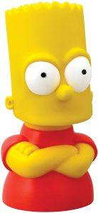 Figura de busto de Bart Simpson de PVC - Muñecos de Bart Simpson de los Simpsons - Figuras de acción de los Simpsons