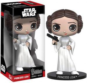 Figura de la princesa Leia de Star Wars de Wobblers - Figuras de acción y muñecos de Leia Organa de Star Wars