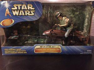 Figura de la princesa Leia en Speeder de Star Wars de Hasbro - Figuras de acción y muñecos de Leia Organa de Star Wars