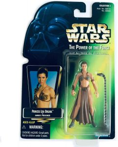 Figura de la princesa Leia esclava de Star Wars de Kenner - Figuras de acción y muñecos de Leia Organa de Star Wars
