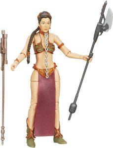 Figura de la princesa Leia esclava de Star Wars de The Black Series - Figuras de acción y muñecos de Leia Organa de Star Wars